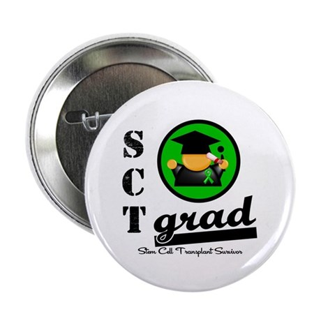 "Stem Cell Transplant Grad 2.25"" Button (10 pack)"