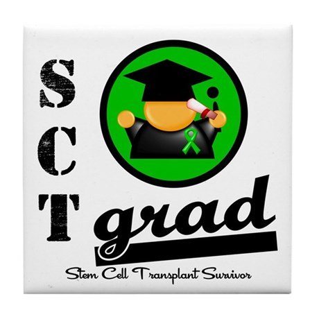 Stem Cell Transplant Grad Tile Coaster