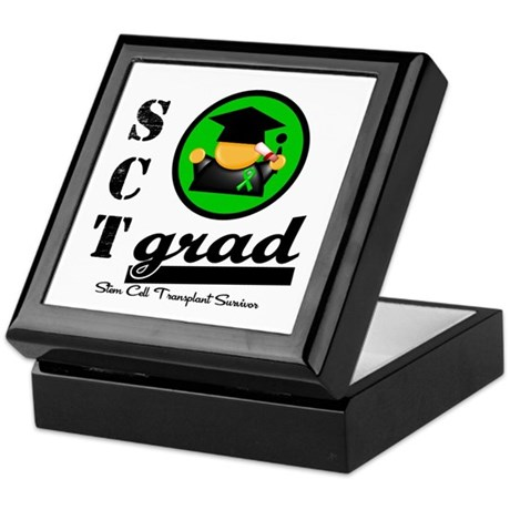 Stem Cell Transplant Grad Keepsake Box