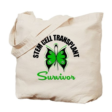SCT Survivor Butterfly Tote Bag