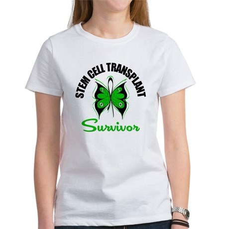 SCT Survivor Butterfly Women's T-Shirt