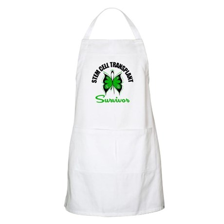 SCT Survivor Butterfly BBQ Apron