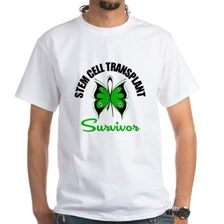 SCT Survivor Butterfly White T-Shirt