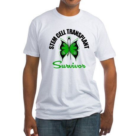 SCT Survivor Butterfly Fitted T-Shirt