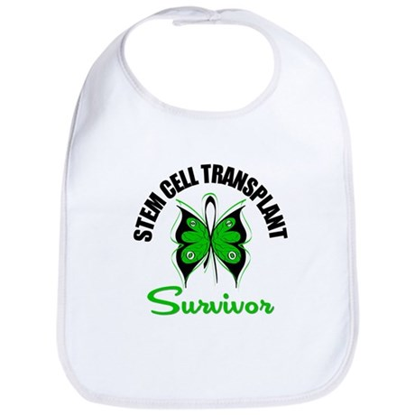 SCT Survivor Butterfly Bib