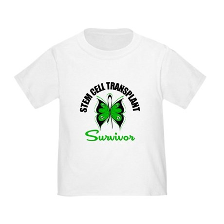 SCT Survivor Butterfly Toddler T-Shirt