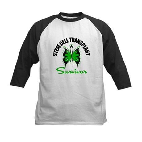 SCT Survivor Butterfly Kids Baseball Jersey