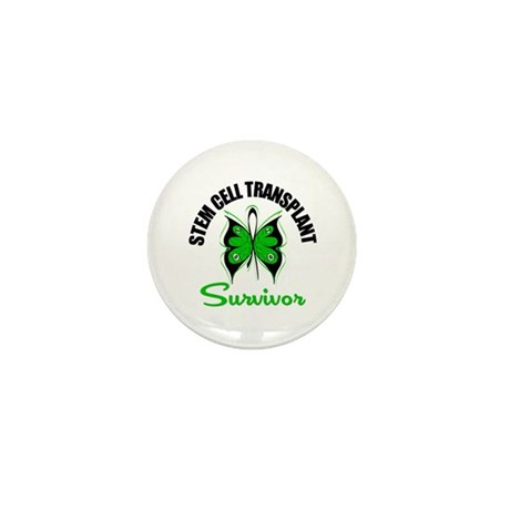 SCT Survivor Butterfly Mini Button (10 pack)