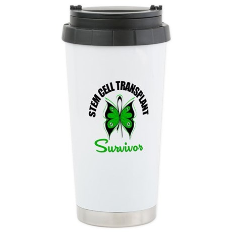 SCT Survivor Butterfly Ceramic Travel Mug