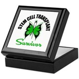 SCT Survivor Butterfly Keepsake Box