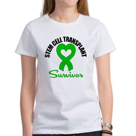 SCT Survivor Heart Ribbon Women's T-Shirt