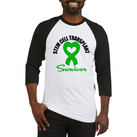 SCT Survivor Heart Ribbon Baseball Jersey