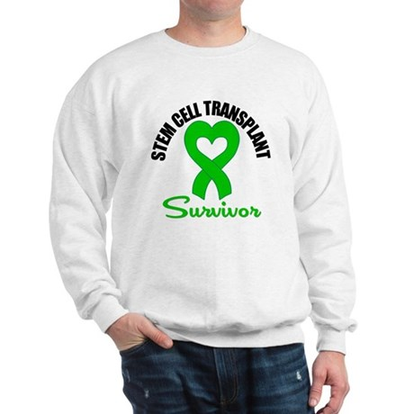 SCT Survivor Heart Ribbon Sweatshirt