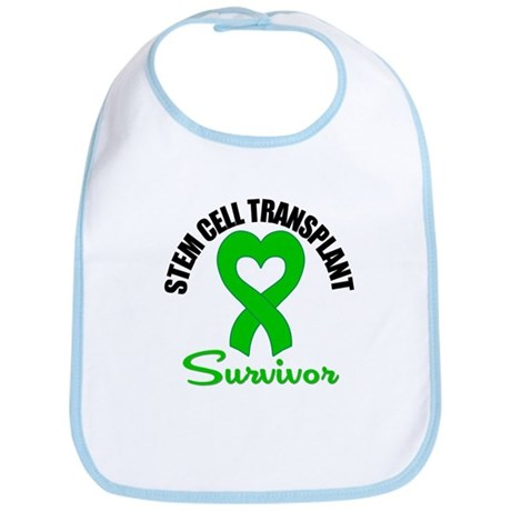SCT Survivor Heart Ribbon Bib