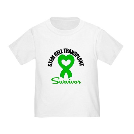 SCT Survivor Heart Ribbon Toddler T-Shirt
