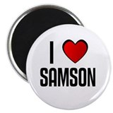 "I LOVE SAMSON 2.25"" Magnet (10 pack)"