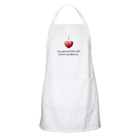 I Love My Grandchild With Dow BBQ Apron