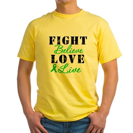 SCT Warrior Fight Yellow T-Shirt