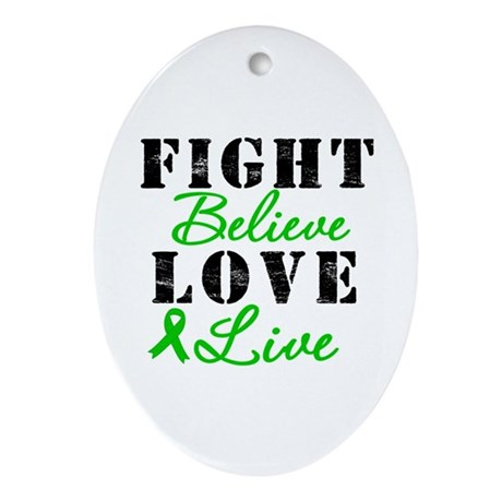 SCT Warrior Fight Oval Ornament