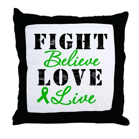 SCT Warrior Fight Throw Pillow