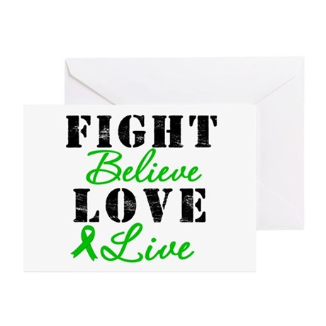 SCT Warrior Fight Greeting Cards (Pk of 10)