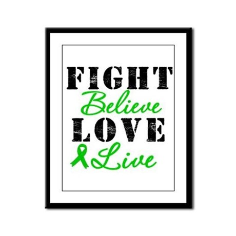 SCT Warrior Fight Framed Panel Print