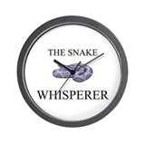 The Snake Whisperer Wall Clock
