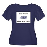 The Snake Whisperer Women's Plus Size Scoop Neck D