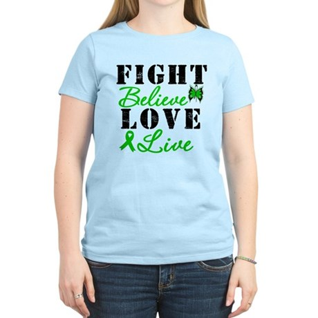 SCT FightBelieveLoveLive Women's Light T-Shirt