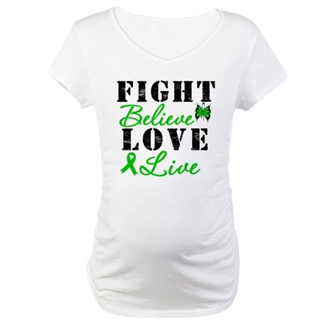 SCT FightBelieveLoveLive Maternity T-Shirt