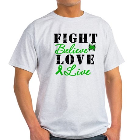 SCT FightBelieveLoveLive Light T-Shirt