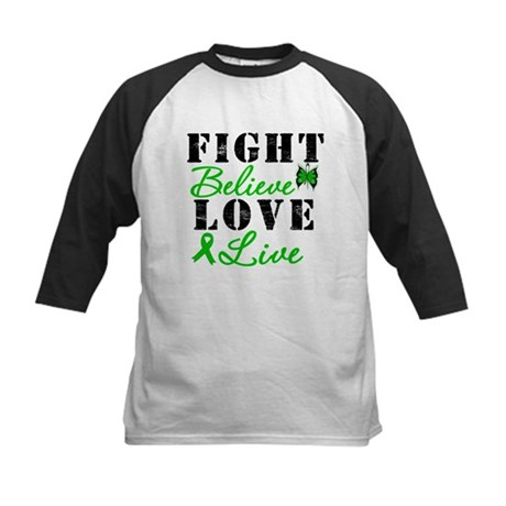 SCT FightBelieveLoveLive Kids Baseball Jersey