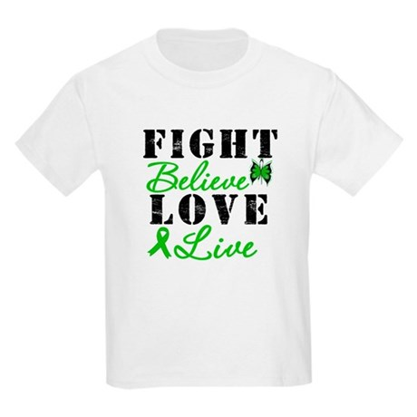 SCT FightBelieveLoveLive Kids Light T-Shirt