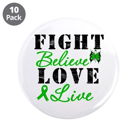 "SCT FightBelieveLoveLive 3.5"" Button (10 pack)"