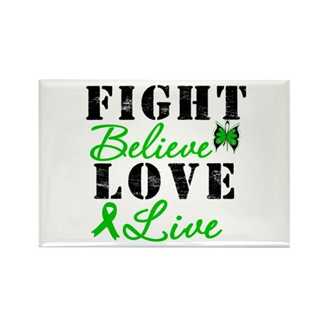 SCT FightBelieveLoveLive Rectangle Magnet (10 pack