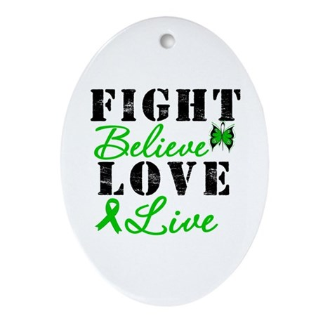 SCT FightBelieveLoveLive Oval Ornament