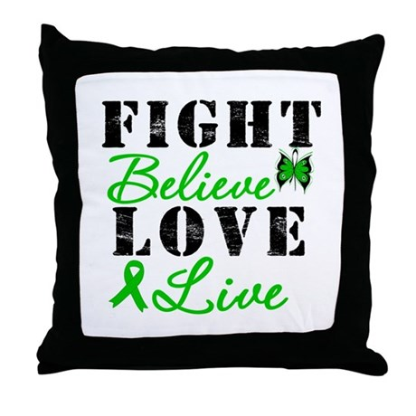 SCT FightBelieveLoveLive Throw Pillow