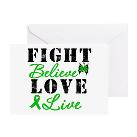 SCT FightBelieveLoveLive Greeting Card