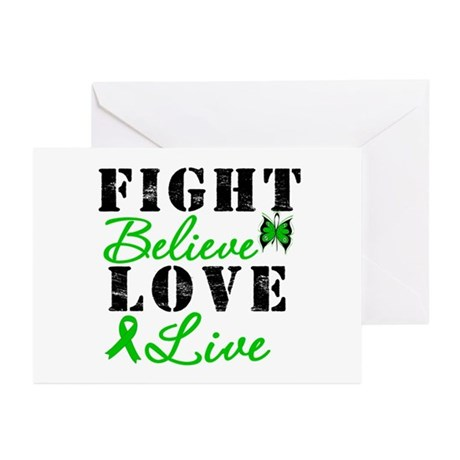 SCT FightBelieveLoveLive Greeting Cards (Pk of 20)