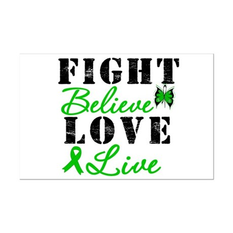 SCT FightBelieveLoveLive Mini Poster Print