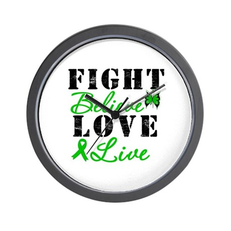 SCT FightBelieveLoveLive Wall Clock