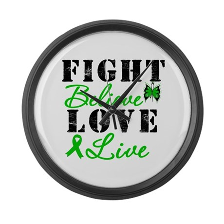 SCT FightBelieveLoveLive Large Wall Clock