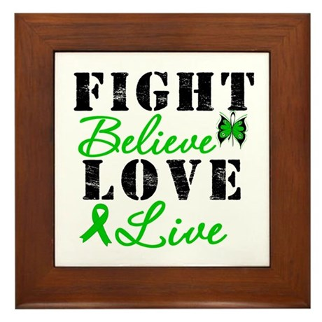 SCT FightBelieveLoveLive Framed Tile