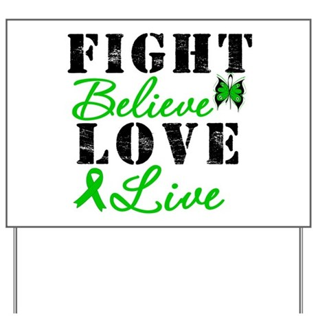 SCT FightBelieveLoveLive Yard Sign