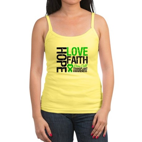 SCT Hope Love Faith Jr. Spaghetti Tank