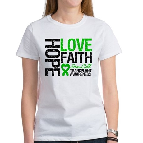 SCT Hope Love Faith Women's T-Shirt