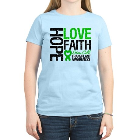 SCT Hope Love Faith Women's Light T-Shirt