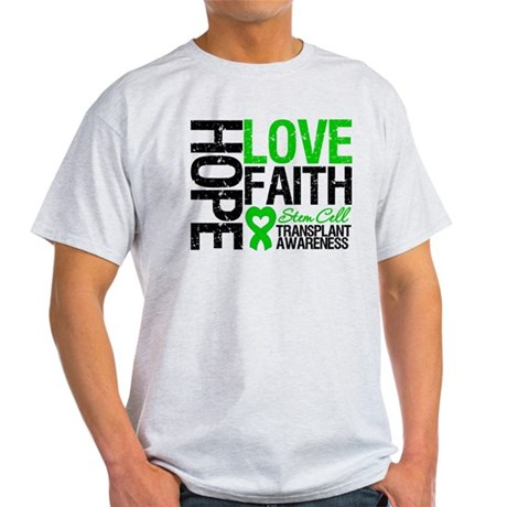 SCT Hope Love Faith Light T-Shirt