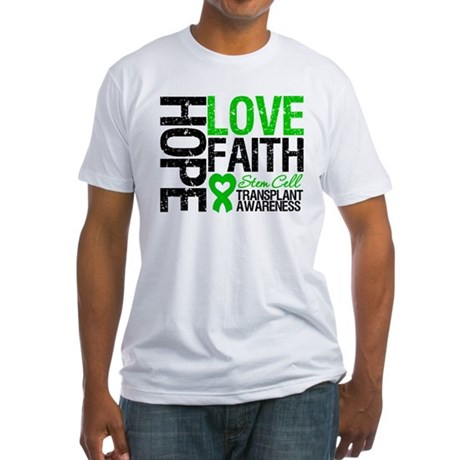 SCT Hope Love Faith Fitted T-Shirt