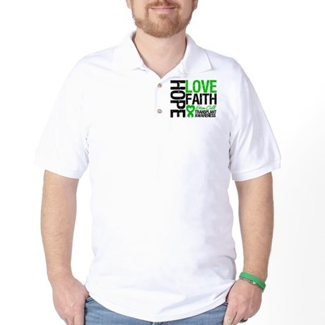 SCT Hope Love Faith Golf Shirt
